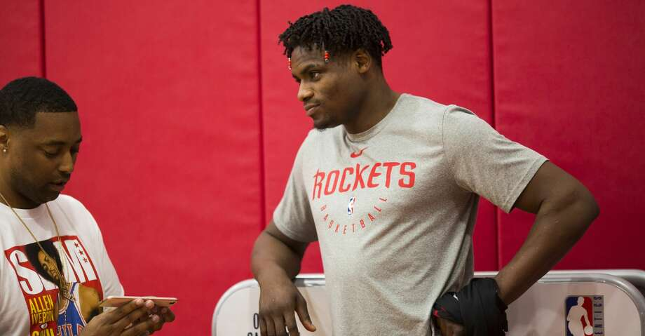 PHOTOS: Rockets game-by-game Houston Rockets forward Danuel House Jr. attends a team practice at the Toyota Center on Friday, April 26, 2019, in Houston. Browse through the photos to see how the Rockets fared in each game this season. Photo: Marie D. De Jesús/Staff Photographer