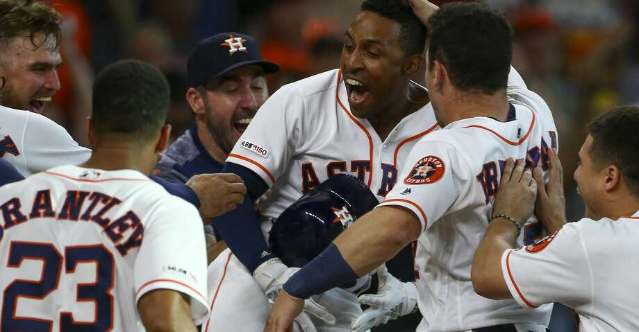 Astros notebook: Houston, Angels can add extra roster slot for Monterrey  games - Houston Chronicle