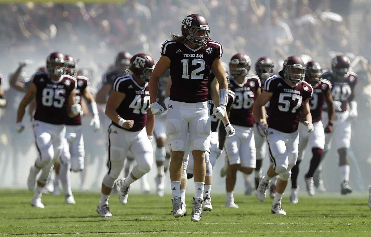 Texas A&M's jack-of-all trades Cullen Gillaspia will see if he can find a roster with the Texans after they made the Katy Taylor graduate their final selection of the2019 NFL draft.
