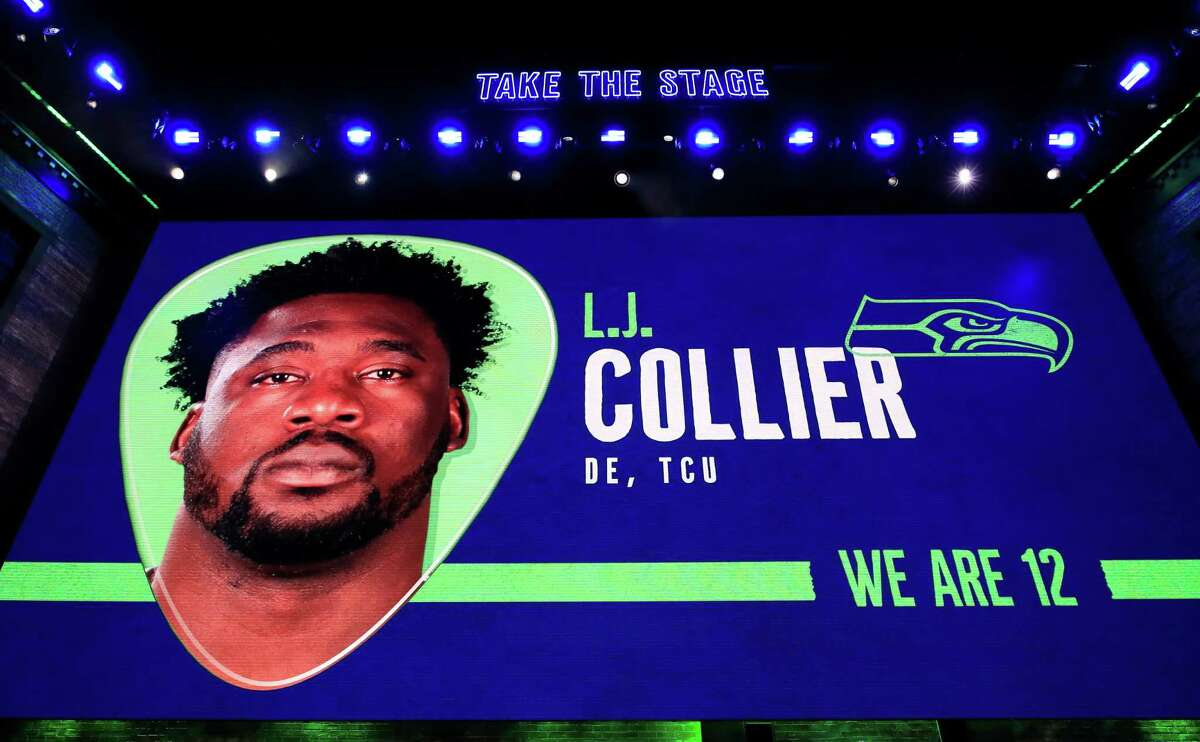 First round No. 29 overall by the Seattle Seahawks L.J. Collier, DE College: TCU