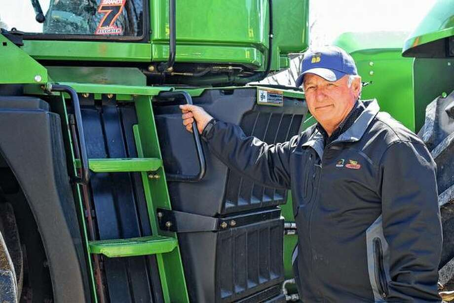 Martin Marr of Jacksonville was named a 2019 Master Farmer by Prairie Farmer Photo: Samantha McDaniel-Ogletree | Journal-Courier