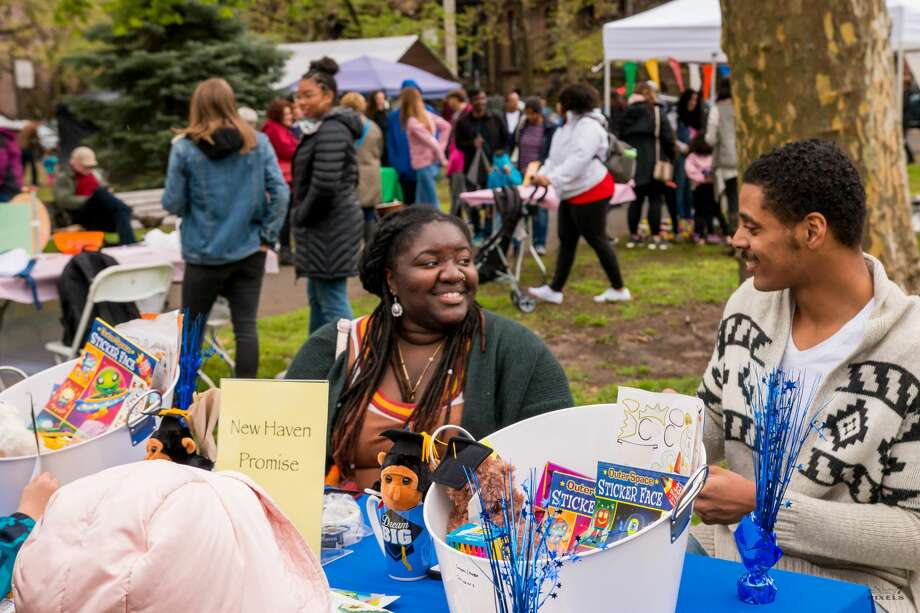 The 46th annual Cherry Blossom Festival was held in New Haven's Wooster Square on April 28, 2019. Festival goers enjoyed live music, food and local authors and artists all set against cherry blossom trees. Were you SEEN? Photo: Shaleah Williams - Eighty7Pixels
