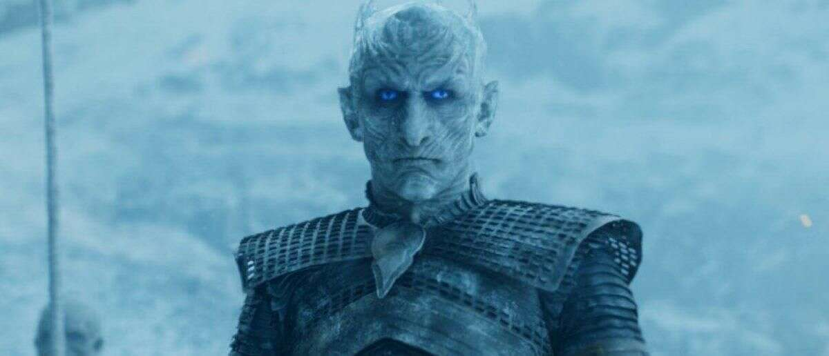 The Night King: dead After surviving various attacks, even fire,Arya Stark managed to kill him easily.