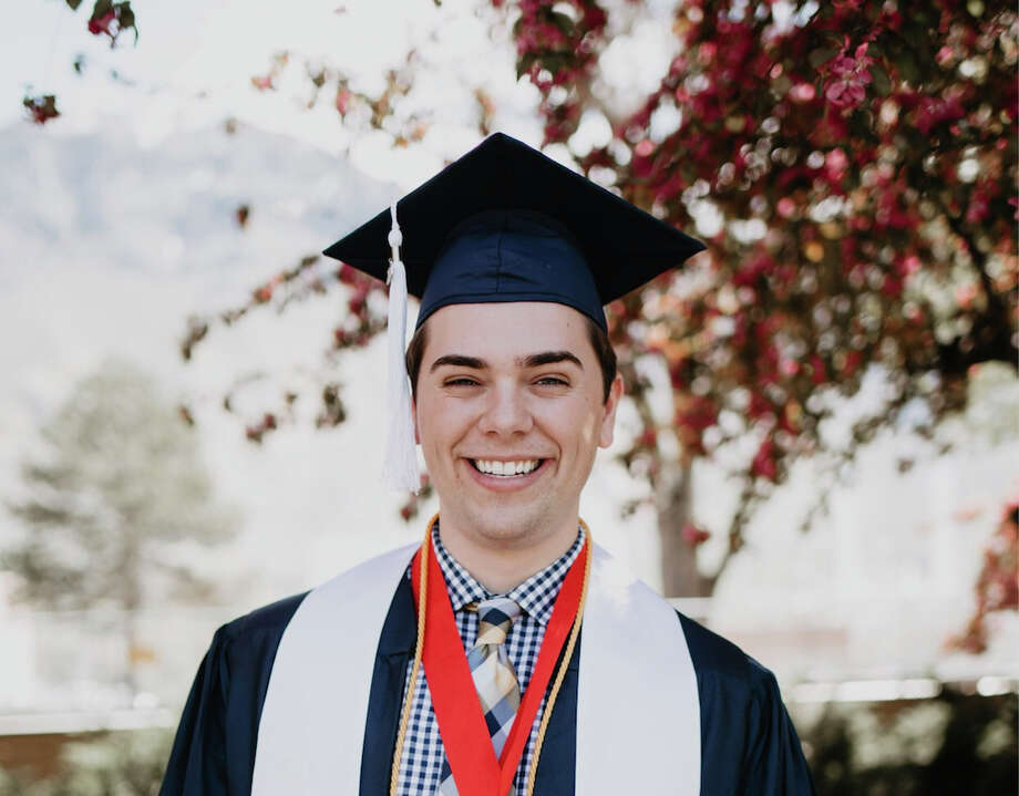 "Matthew Easton, a valedictorian at Brigham Young University, said being a gay Mormon has not always been an easy road. But he was moved to declare in a commencement speech on Friday, ""I am not broken."" Photo: Courtesy Of Matthew Easton / Handout"