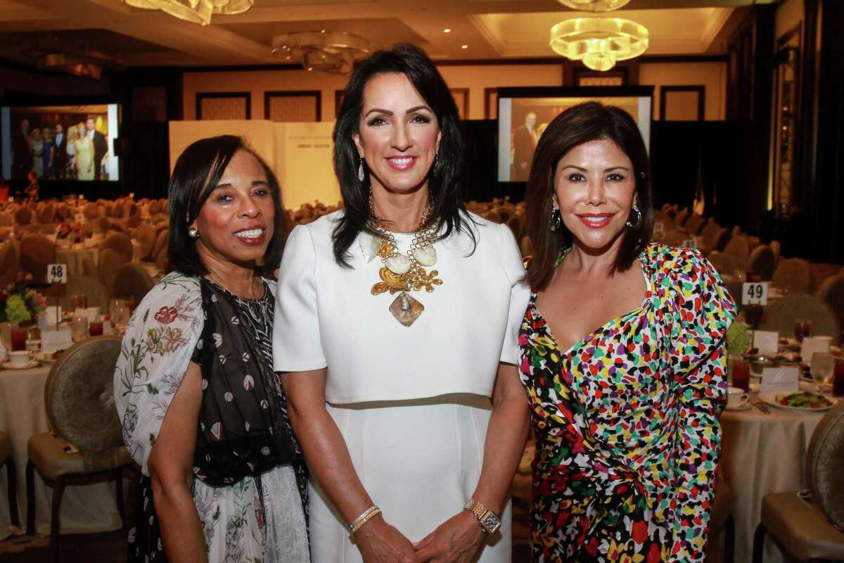 Chairs Phyllis Williams, from left, Alicia Smith and Ericka Bagwell at the Children's Assessment Center's 20th Annual Spirit of Spring Luncheon & Fashion Show.