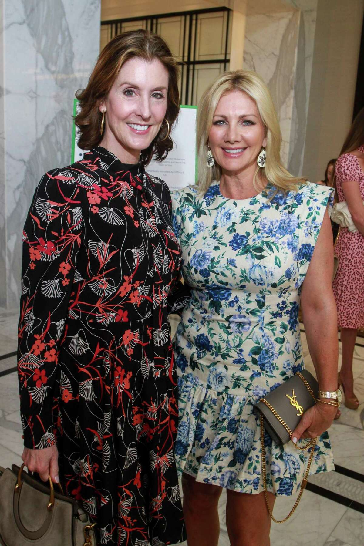 Phoebe Tudor, left, and Anne Carl at the Children's Assessment Center's 20th Annual Spirit of Spring Luncheon & Fashion Show.