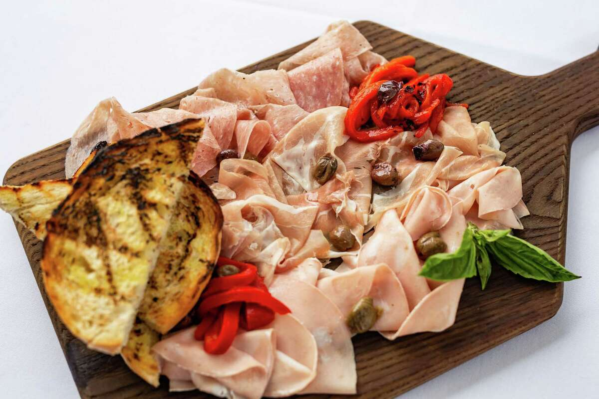 B.B. Italia Kitchen & Bar, opening May 2 at 14795 Memorial. is a new restaurant from Berg Hospitality Group (B& Butchers & Restaurant and B.B. Lemon) offering a menu of classic Italian-American food. Shown: Antipasto board.