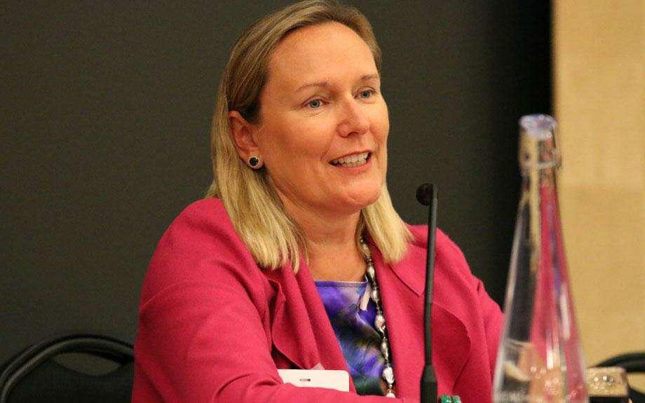 Financial Accounting Foundation CEO Terri Polley. (Screenshot via Financial Accounting Foundation)