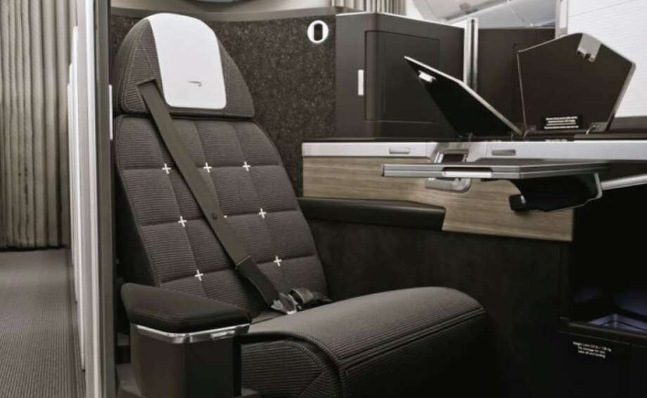 A cushy business class seat like this one from British Airways at a deep discount? Might be too good to be true. Photo: British Airways