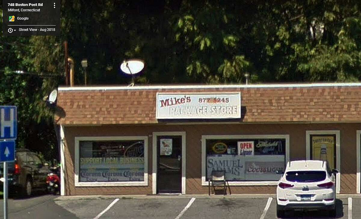 The State Department of Consumer Protection has revoked the liquor license of a Boston Post Road package store in Milford for violating state law by repeatedly selling alcohol to minors, the agency said. Underage drinkers were coming out of Mike's Package Store at 748 Boston Post Road, Milford, after having purchased alcohol on at least two occasions in late 2018 and early 2019, according to state liquor control agents conducting surveillance on the establishment with Milford police.