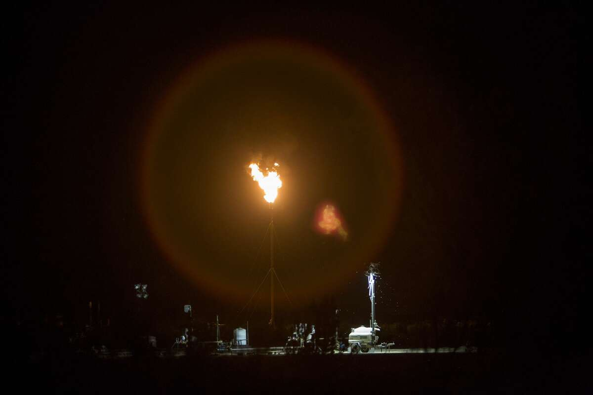 A study by the Environmental Integrity Project says the Permian Basin has seen an increase in illegal air emissions of sulfur dioxide and hydrogen sulfide due to flaring of sour gas as the region sees oil and gas activity boom.