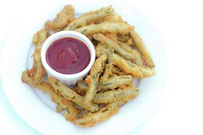 Recipe: Nopal (Cactus) Fries and Chipotle Ketchup - HoustonChronicle com