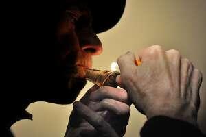 Connecticut--Medical marijuana.  Photo by Brad Horrigan/New Haven Register-03.05.11.