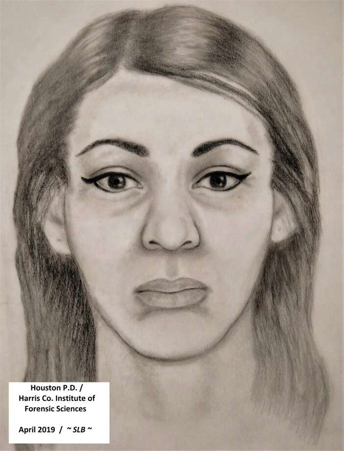 A Texas Rangers rendering shows a woman whose severed head was found near Lake Houston in March 2018. Photo: Courtesy Of The Harris County Institute Of Forensic Sciences