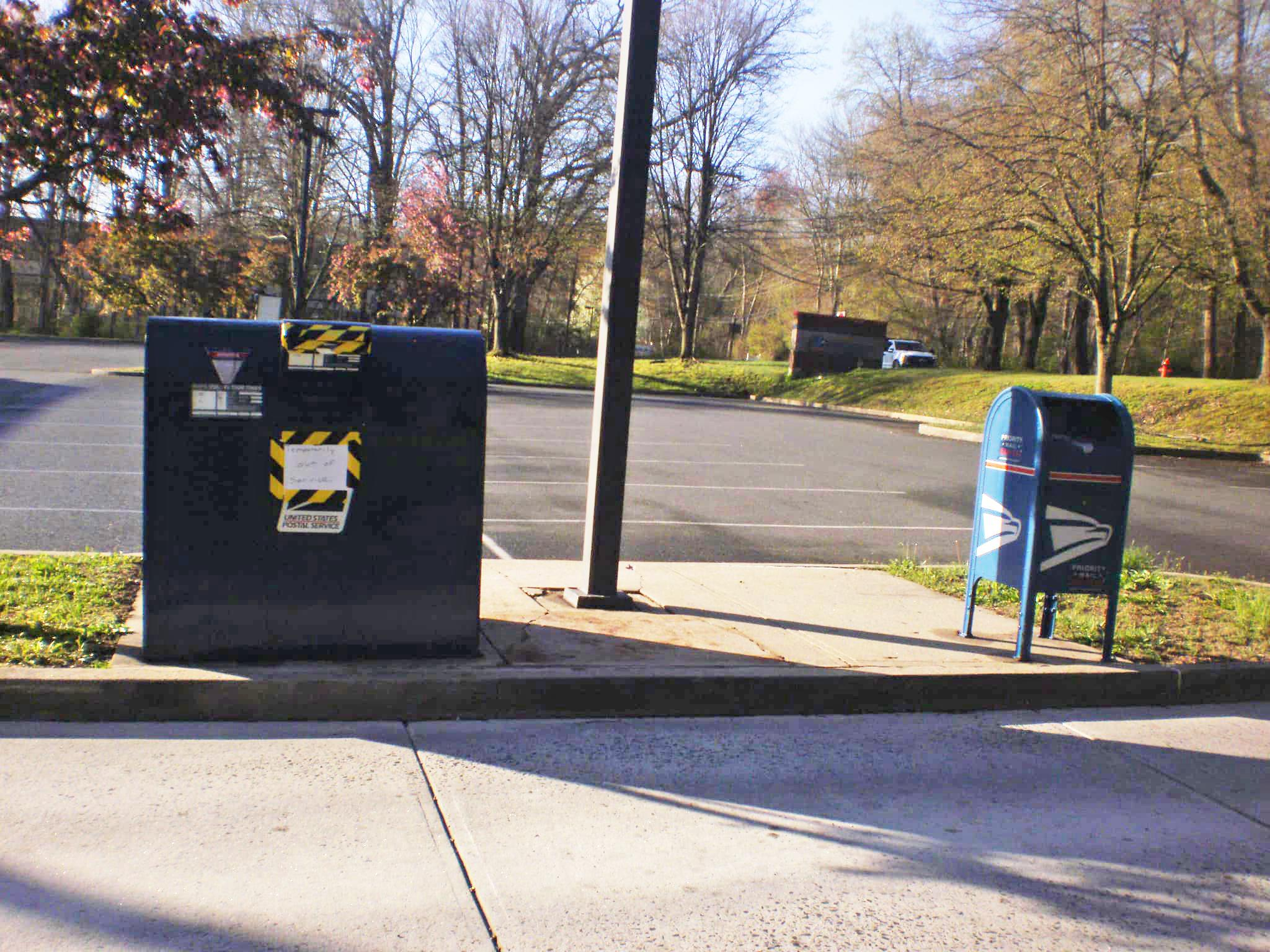 Mail Stolen From Vandalized Newtown Drop Box Sfgate