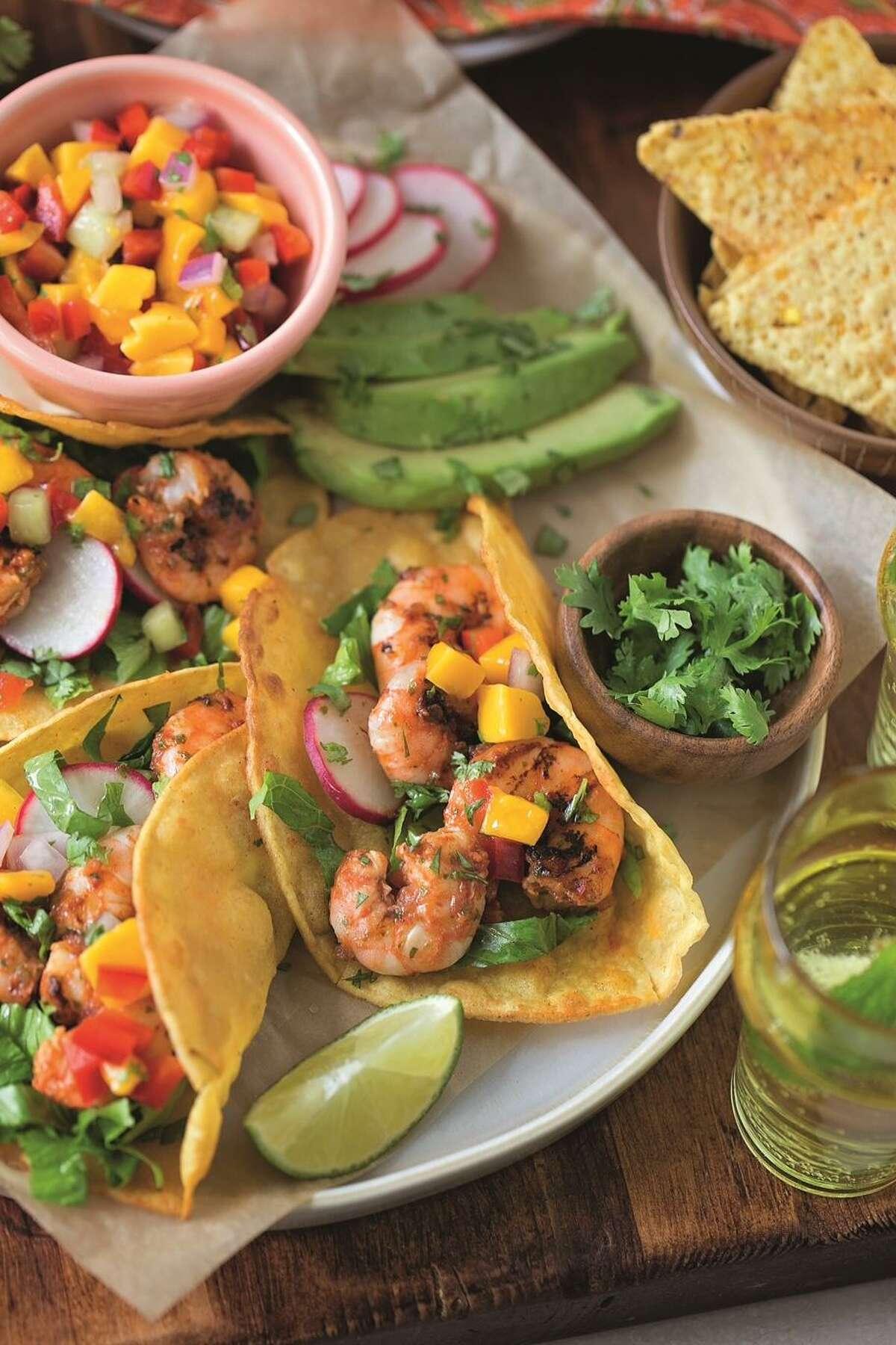 Hot and Smoky Shrimp Tacos