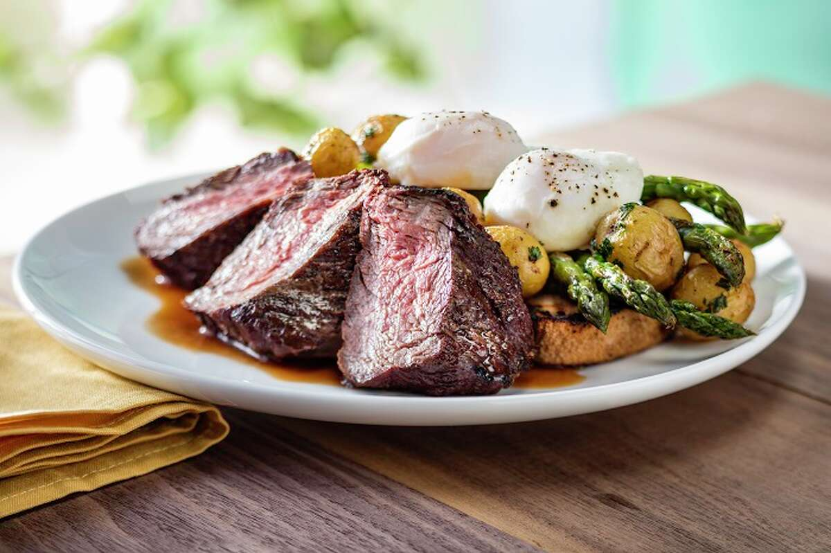 Seasons 52Address: 4410 Westheimer; 842 W Sam Houston Parkway NorthBrunch hours: 10 a.m. to 2 p.m.This national chain serves up American dishes in calorie-controlled portions. Celebrate mom with a three-course meal ($29.95 per person) that includes items such as prime steak and eggs, wood-grilled sea scallops and brick oven-roasted Cornish hen.