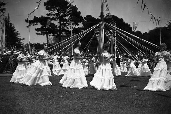 May Day Celebration in Golden gate Park, May 1 1940