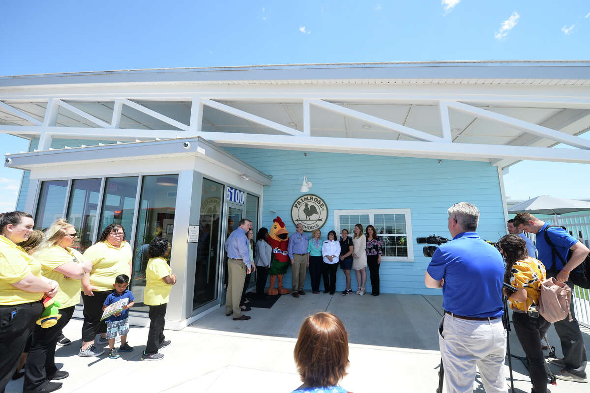 Ribboncutting and open house for the Primrose School of Midland, a daycare facility that will serve children of employees at Chevron, Anadarko, EOG and Oxy, April 27, 2019. James Durbin/Reporter-Telegram