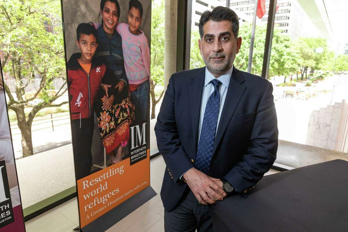 Ali Al Sudani, a refugee from Iraq, is senior vice president for programs and chief of staff at Interfaith Ministries, overseeing all of the organization's programs and services.