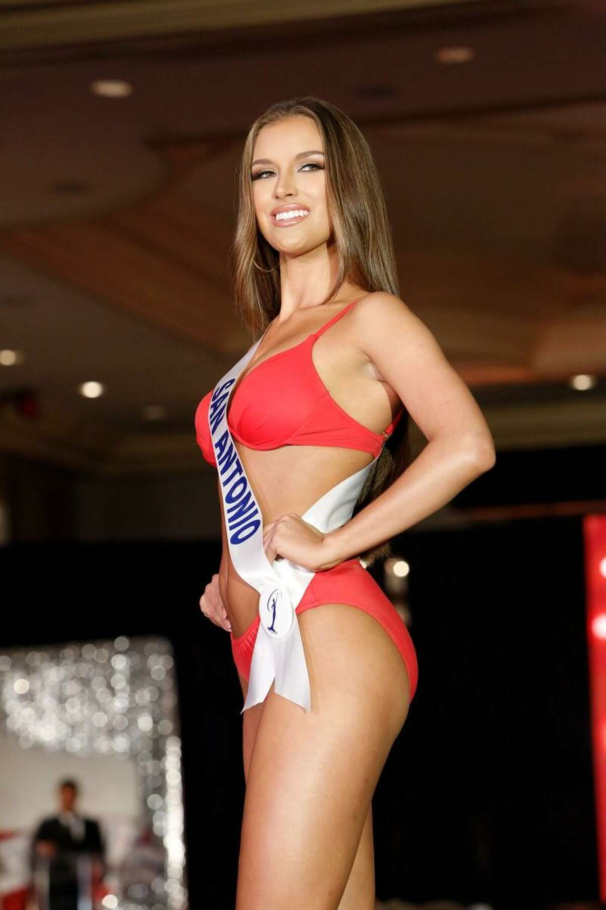 Miss Texas USA Alayah Benavidez considers the swimsuit portion of pageant competition a way to show off a contestant's confidence as well as fitness.