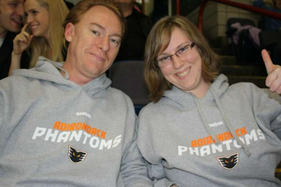 Fans on both sides turn out to enjoy a game at the Times Union Center. Were you seen at 2009 Albany River Rats vs. Adirondack Phantoms?View Seen gallery. Photo: Jon Campbell