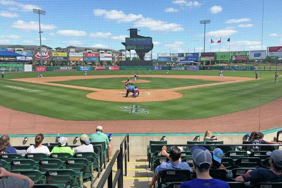 The Sugar Land Skeeters play at the 7,500-seat Constellation Field off Highway 6. Photo: Craig Moseley, Staff Photographer / ©2019 Houston Chronicle