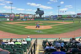 Opening weekend of the Atlantic League Sugar Land Skeeters with a game against the Southern Maryland Blue Crabs on Sunday, April 28, 2019 at Constellation Field, Sugar Land, TX.