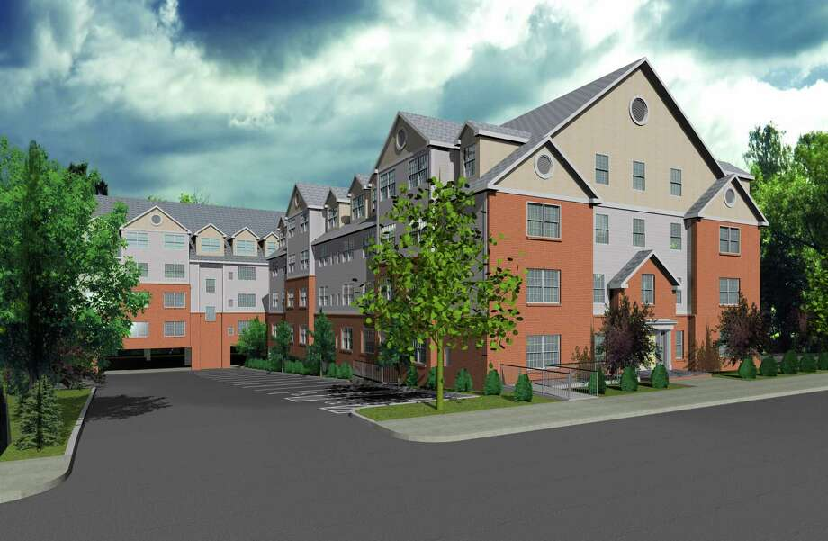 Building rendering for the 68-apartment River Breeze Residential planned by Primrose Companies at 223 Canal St. All approvals are in place for the $12 million project. Demolition of existing buildings and site environmental clean up is to start by March of 2017. Construction of new building is to start by June of 2017. Photo: Contributed Photo / Contributed Photo