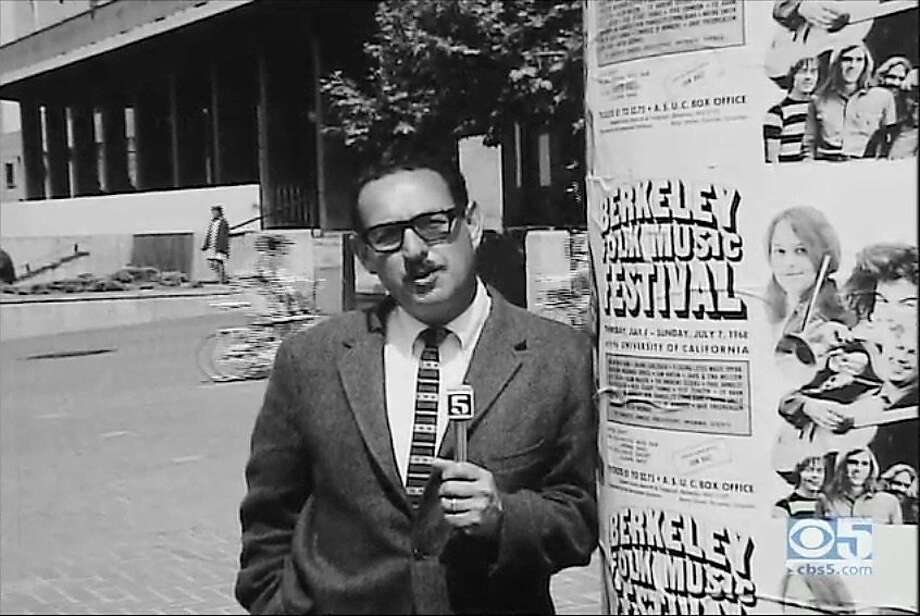Bay Area TV news veteran Ed Arnow, formerly of KRON 4, KPIX 5 and KGO 7, died April 14, 2019, at age 95. Photo: Unknown / Courtesy Stephanie Arnow