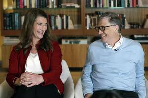 Bill and Melinda Gates on Feb. 1 in Kirkland, Wash. Melinda Gates has written a book that allows a peek into her life.