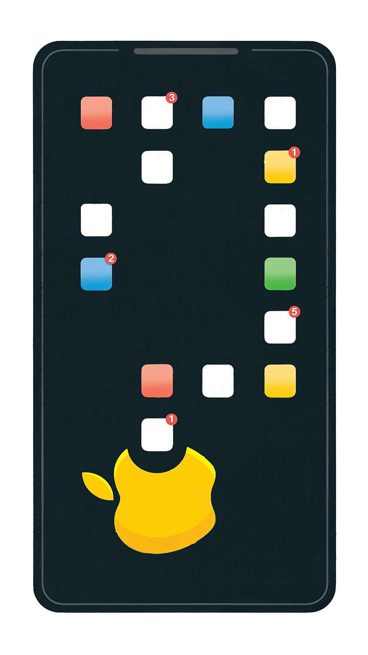 Last year, with much fanfare, Apple unveiled a screen-time tracker of its own. Then it quietly began purging competitors from its store. (Chris Gash/The New York Times) -- NO SALES; FOR EDITORIAL USE ONLY WITH NYT STORY APPLE APPS BY JACK NICAS FOR APRIL 27, 2019. ALL OTHER USE PROHIBITED. --