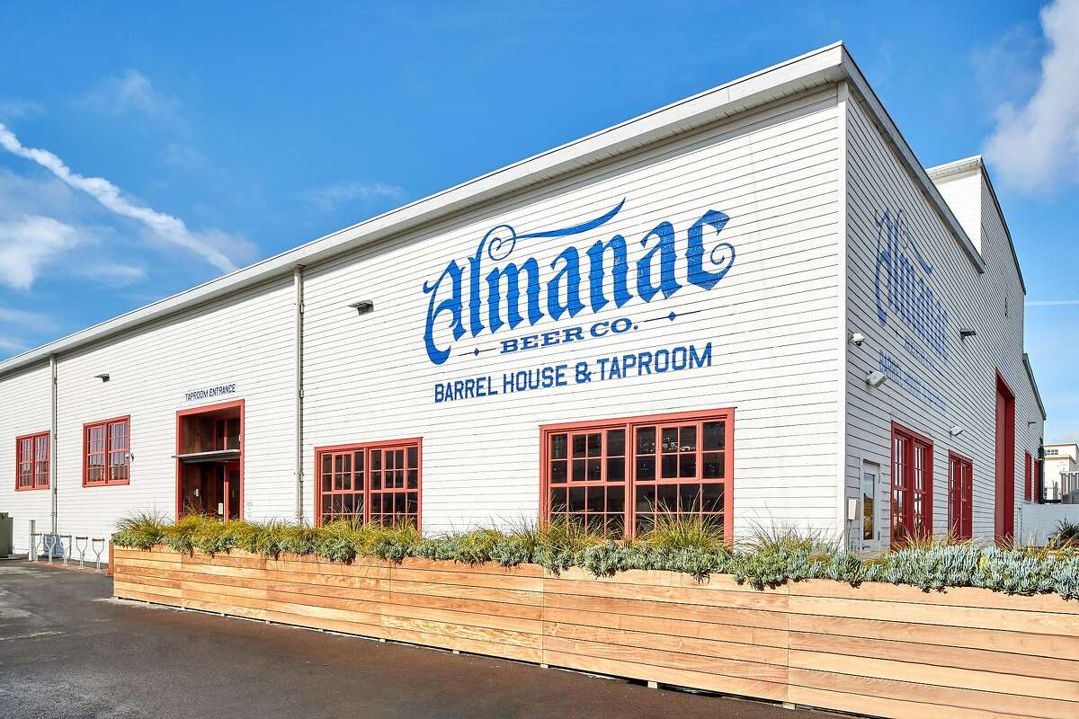 The Almanac Barrel House, Brewery, and Taproom at Alameda Point is part of an ongoing redevelopment effort to transform the former naval air station into a mixed-used community of restaurants, residences and businesses