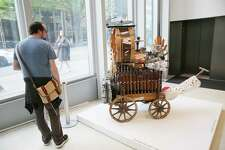 An exhibit titled Hear & Now: Community Perceptions of Homelessness opened at the Seattle Art Museum last week. Seattle-based sculptor Trimpin worked with a group of Path with Art student artists who all are currently or formerly homeless to create a visual/audio artwork that reflects their experiences. It will be on display at SAM through July 15.