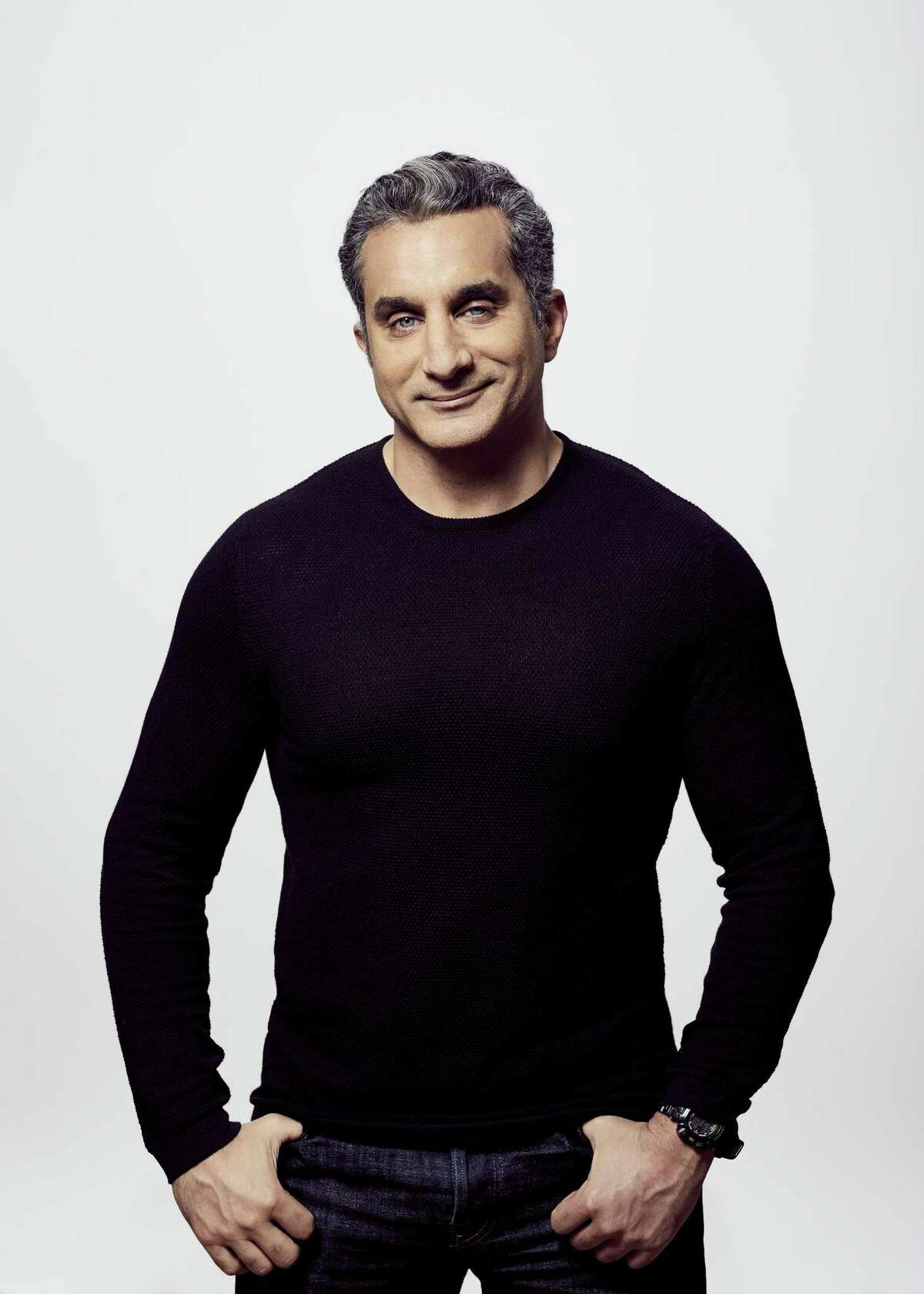 Bassem Youssef will do standup comedy at The Stress Factory