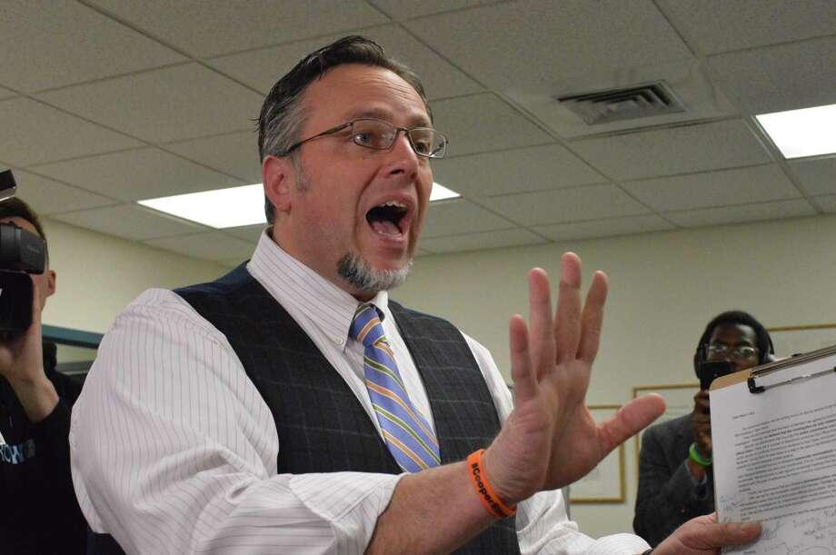 Hamden Mayor Curt B. Leng Photo: Clare Dignan / Hearst Connecticut Media