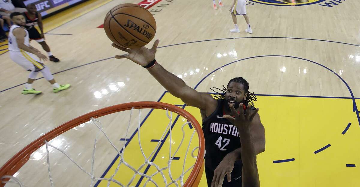 PHOTOS: Rockets game-by-game Houston Rockets center Nene (42) shoots against the Golden State Warriors during the second half of Game 1 of a second-round NBA basketball playoff series in Oakland, Calif., Sunday, April 28, 2019. (AP Photo/Jeff Chiu) Browse through the photos to see how the Rockets fared in each game this season.