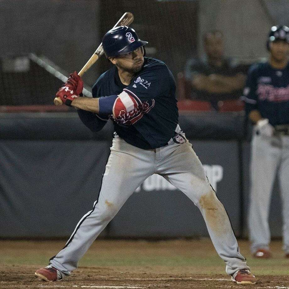 Juan Martinez and the Tecolotes host the Piratas at 7 p.m. Tuesday at Uni-Trade Stadium. Martinez has recorded multiple hits in six of eight games during his hitting streak. Photo: Courtesy Of The Tecolotes Dos Laredos /file