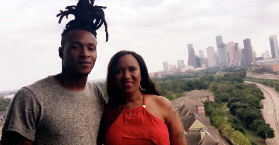 Texans All-Pro wide receiver DeAndre Hopkins' mother, Sabrina Greenlee, is the inspiration for a movie in the works about her life. Photo: Houston Texans Cookbook