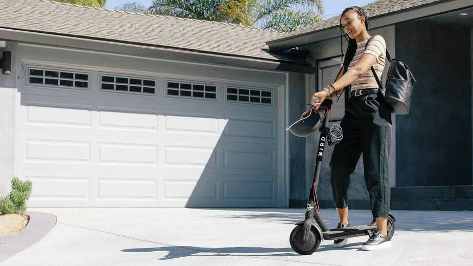 With its monthly personal rental plan, Bird will deliver a scooter right to your house. Photo: Bird