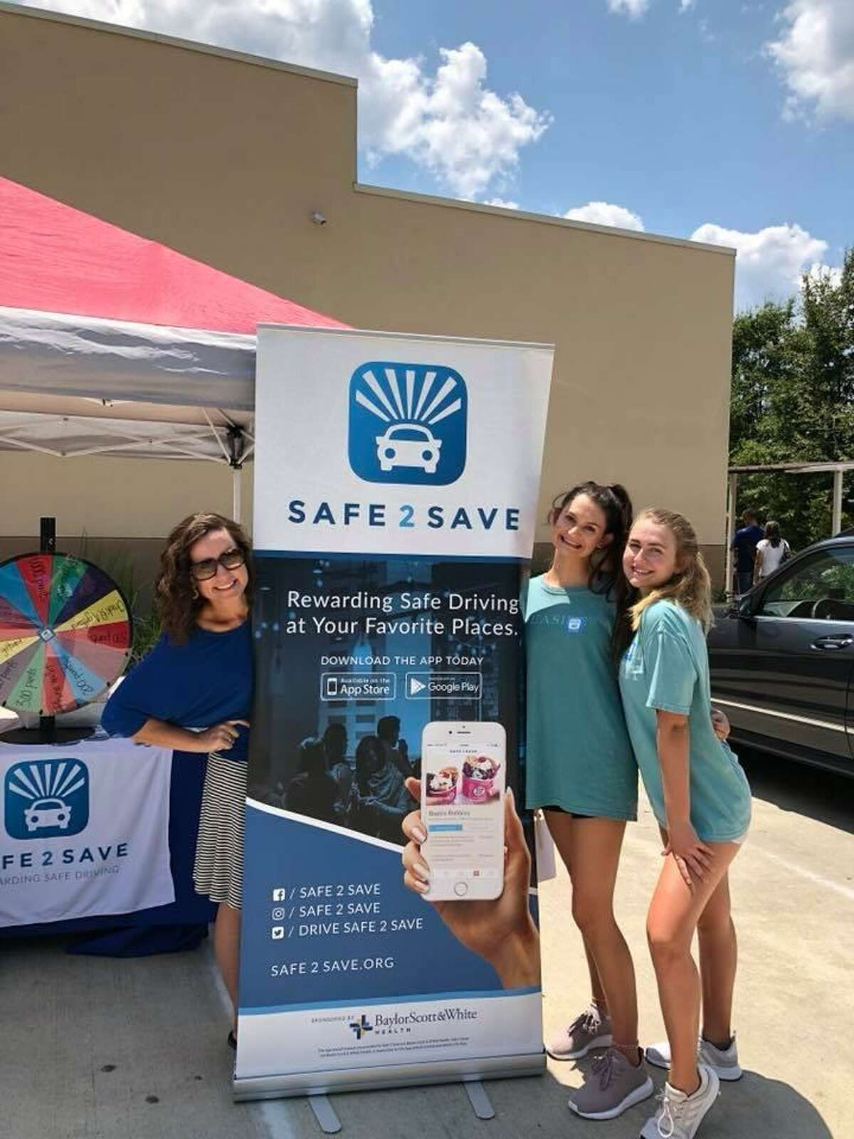 Marci Corry decided to make an impact on safe driving in communities throughout Texas. After researching behavior change and observing that her young children responded well with positive reinforcement, Corry decided to encourage people in a positive way to stay off their phones while driving. She founded SAFE 2 SAVE in October 2016.In just two years, the app has gained a lot of popularity with over 89,000 users. Businesses on the app are in many cities throughout Texas, including at Dairy Queen in The Woodlands, with plans to expand across the entire state of Texas and go nationwide.