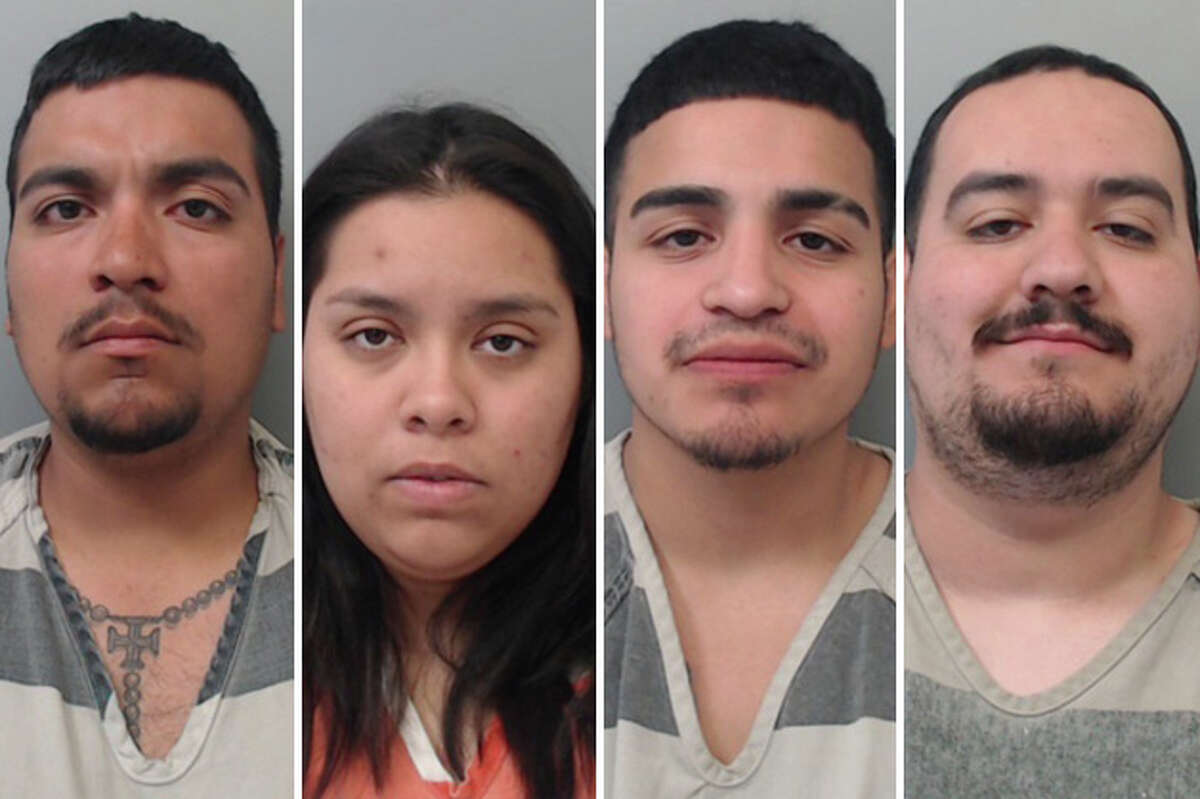 Four people were arrested over the weekend following a report of shots fired in south Laredo, authorities said.