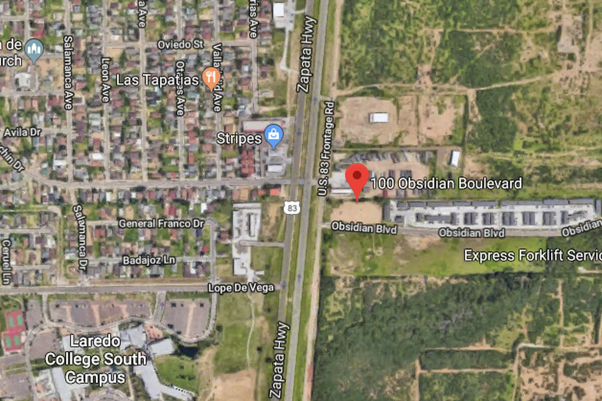 At about 12:56 a.m. Friday, police officers responded to a shots fired in the 100 block of Obsidian Boulevard.