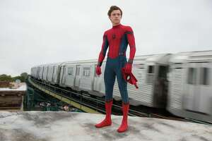 Actor Tom Holland donned the spider-spandex to play the lead role. But as athletic as the dance-trained Holland is in real life, he was replaced by an all-CG digital double for many stunts.