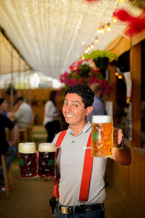 Jorge Hernandez, owner of the Beer Garden, photographed April 3, 2019. James Durbin / Reporter-Telegram Photo: James Durbin / Midland Reporter-