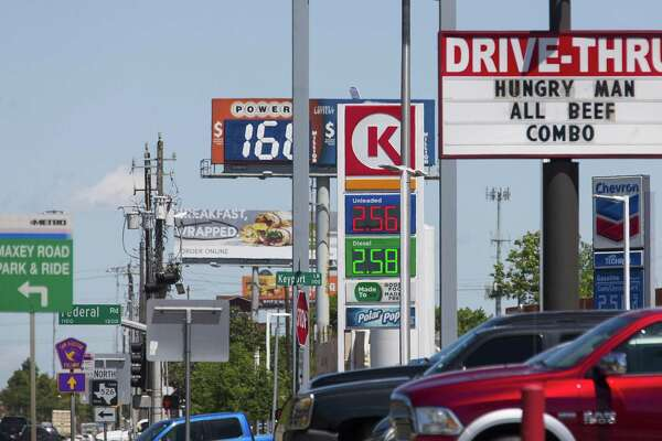 Gas Prices In Texas >> Gas Prices Fall Again In Houston Houstonchronicle Com