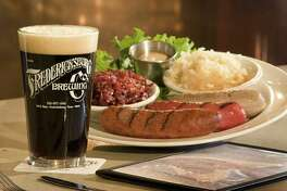 Fredericksburg Brewing Company's sausage plate. (Provided, credit Marc Bennett)
