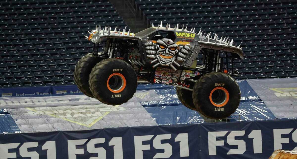 Monster Jam, shown during a 2017 outing in Houston, has postponed its January dates in San Antonio because of rising coronavirus numbers in the city.