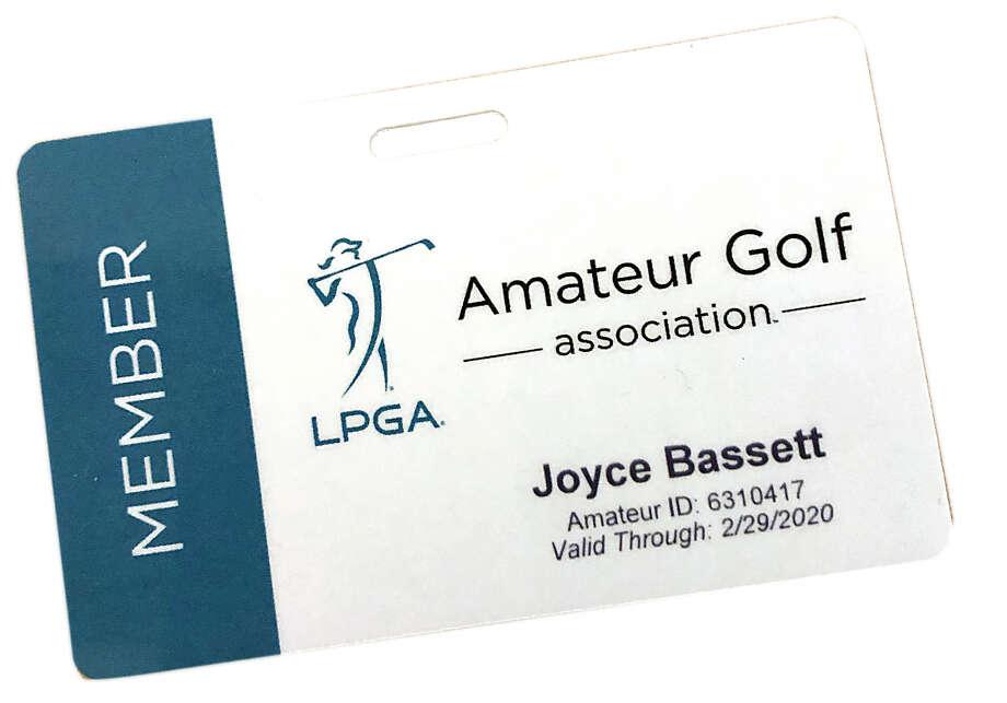 LPGA Amateurs Membership Card Photo: Times Union
