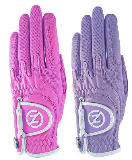 Zero Friction golf gloves come in a variety of colors. Photo: Zero Friction